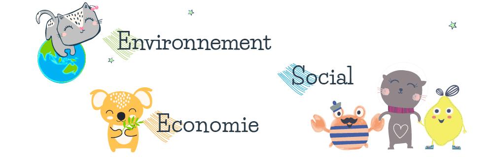 Environnement, économie et social.
